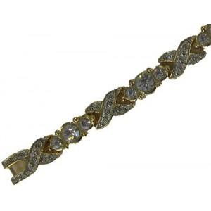 Magnetarmband mit Steinen