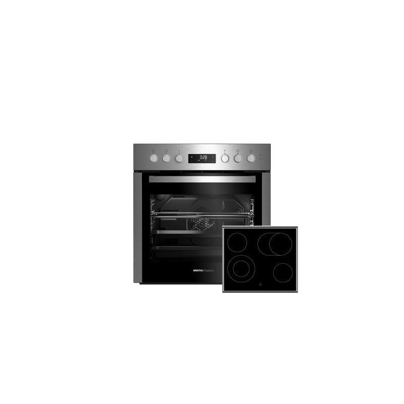 Elektra Bregenz Einbauherd-Set HE62080 Inox