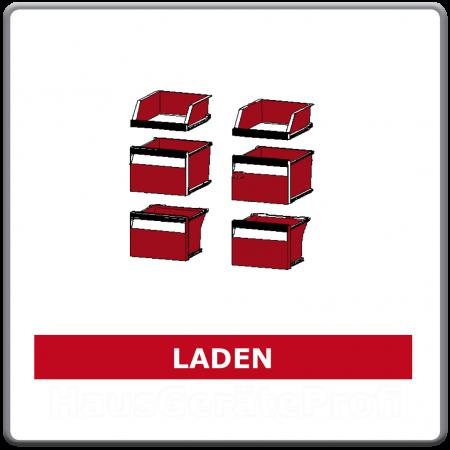 Schubladen und Abstellfächer